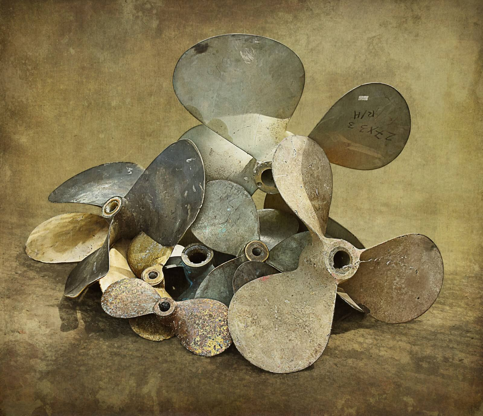 Scrap Metal Propellers